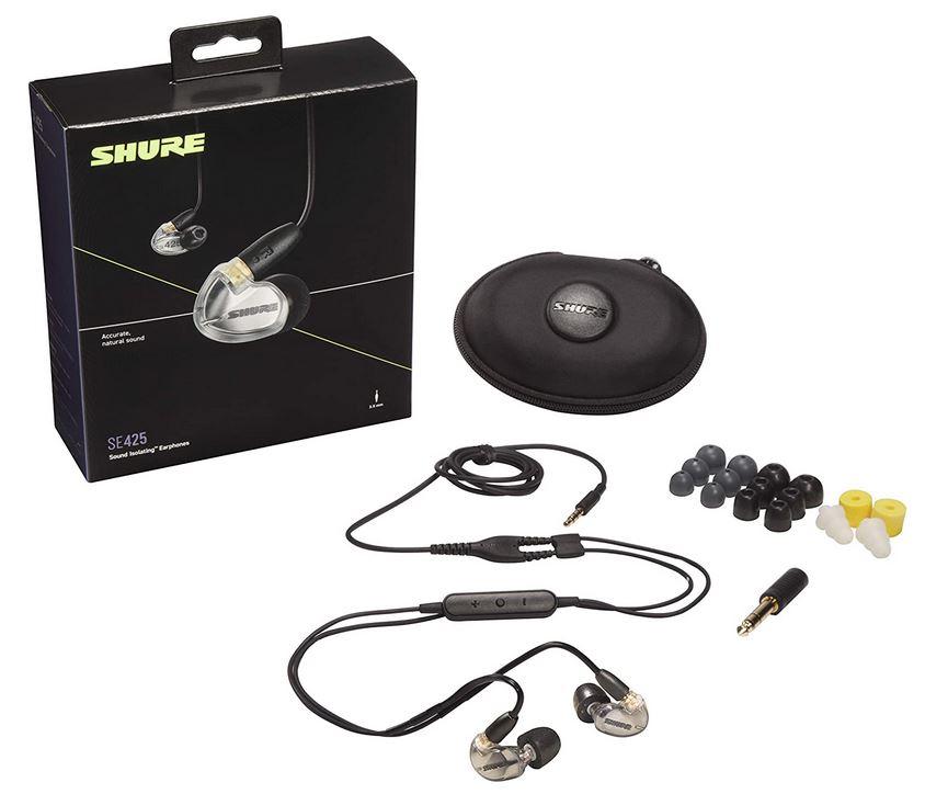 Sportmikrofon In Ear Kopfhörer Shure SE425